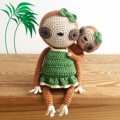 Olivia & Mia, The Sloths Amigurumi Pattern