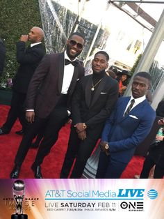 Showing out Ghanian style! 😍😍😍 #ImageAwards #ATT @kofisiriboe of @QueenSugarOWN is in the house!