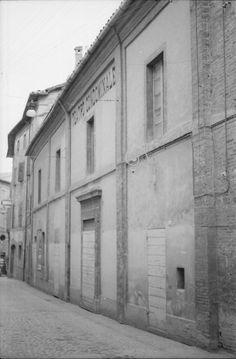 1964 - 1965 Matelica - Facciata Teatro Condominale (attualmente Piermarini)