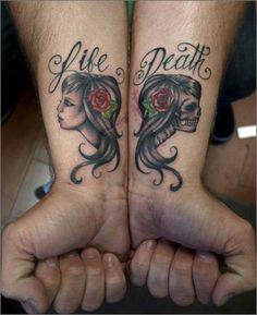 Whitney Lenox Of Artistic Element Tattoo Studio Ink Butter Dope Tattoos, Wrist Tattoos, Skull Tattoos, Pretty Tattoos, Beautiful Tattoos, Body Art Tattoos, Foot Tatoos, Amazing Tattoos, Memorial Tattoos