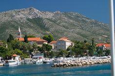 Croatia, Orebic on route to Korcula by johnb10175, via Flickr