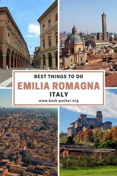 A guide to the best things to do in Emilia Romagna, Italy; home to the Italian city of Bologna. Top restaurants and bars, accommodation, hikes, museums and more. Travel in Europe. | Back-Packer.org