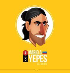 Mario Yepes by Petirojo