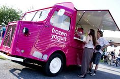 Moochie, frozen yogurt, Citroen HY