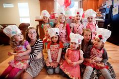 Baking parties are all the rage right now and this one is a real 'treat'.  This party was photographed and submitted by Jamie Hammond  and c...