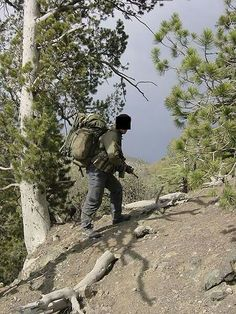 SBS Commando in Afghanistan.