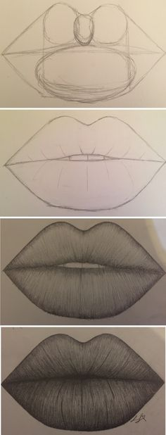 Amazing Lip Drawing Ideas & Inspiration · Brighter Crafts - Indispensable address of art 20 + Erstaunliche Lippenzeichnung Ideen & Inspiration · Helleres Handwerk – Indispensable address of art amazing lip drawing ideas & inspiration · brighter craft Pencil Art Drawings, Art Drawings Sketches, Easy Drawings, Art Sketches, Pencil Sketch Drawing, Lips Sketch, Animal Drawings, Drawings Of Lips, Amazing Drawings