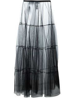 Shop MSGM see-through full skirt in Luisa World from the world's best independent boutiques at farfetch.com. Shop 400 boutiques at one address.