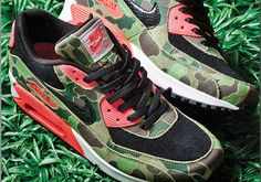 Nike Air Max 90 - Camo Infrared http://sneakersnew.tumblr.com/post/85350163912/nike-air-max-90-camo