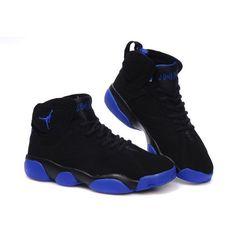 Air Jordan 13 Jordan 7 black/blue ❤ liked on Polyvore featuring shoes, jordans und sneakers