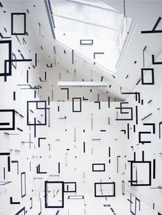 Geometric Rooms - Esther Stocker