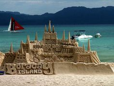 An Introduction to Boracay - (http://tripoutlook.com/an-introduction-to-boracay/) #travel -   Castles of Boracay IslandStorm Crypt / Beach Photos / CC BY-NC-ND  A few kilometers from the exquisite coast of Panay Island in the Philippines lies the island of Boracay. The busiest time of year is from November to May. The waters are very clear and peaceful and it gets somewhat hot and this...