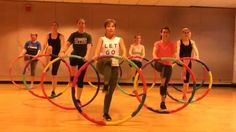 """ADDICTIVE"" - Dance Fitness Workout Weighted Hula Hoops Valeo Club"