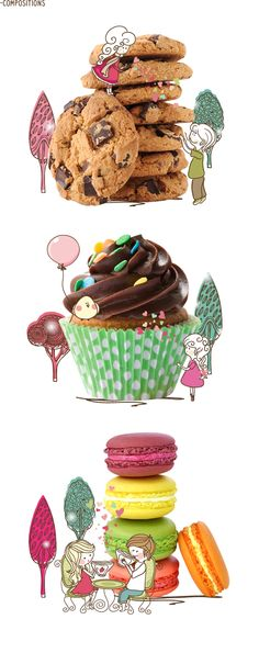 The Sweet Maker by MUU DG , via Behance