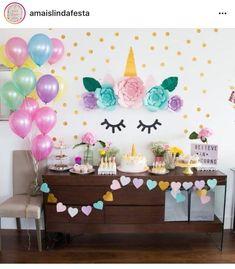 Resultado de imagen para festa de unicornio