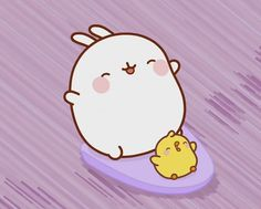 Molang Surfing
