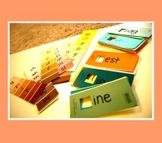 30 Fun Paint Chip Crafts | Disney Baby