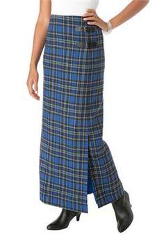Plus Size Maxi Kilt