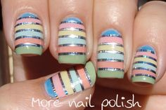 More Nail Polish #nail #nails #nailart