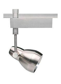 Tech Lighting Om Ceramic Metal Halide Track Head Finish: Satin Nickel, Decorative Lens Ring: Without Ring, Drop Height:. Basement Lighting, Lithonia Lighting, Track Lighting, Light Ring, Lamp Sets, Light Fixtures, Bulb, Ceramics, Metal