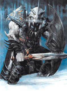 Draconian warrior