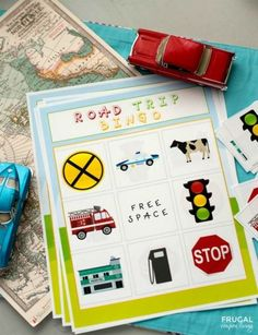 Cars hacks Road Trip Bingo Printable (or Tic-Tac-Toe) on Frugal Coupon Living. This and road trip hacks for the family. Car Travel, Travel Tips, Travel Bingo, Road Trip Bingo, Win Car, Travel Bags For Women, Road Trip With Kids, Car Hacks, Road Trip Hacks