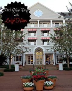 Disney Yacht Club featured at the HinesSightBlog.com