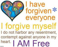 """Great quote!  Yes. .... I believe that this is true!  I harbored resentment towards someone who was in my life a long time. .......... because she did something against me which she knew in her heart to wrong!  So yes I'm free of her,  but YET. ... sometimes you can't do it for """"Everyone"""", because they have or haven't ever deserved it. ......"""