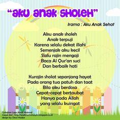 Aku Anak Sholeh (original song Anak Anak Sehat - theme song Posyandu)