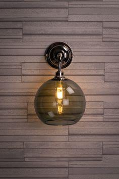 The Smoked glass Hereford Bathroom wall light Bathroom Pendant Lighting, Contemporary Bathroom Lighting, Bathroom Wall Lights, Glass Bathroom, Ceiling Pendant, Modern Lighting, Hereford, Commercial Lighting, How To Make Light