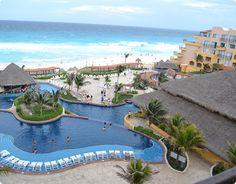 Fiesta Americana Condesa in Cancun, Mexico. Loved it here! Amazing beach & I'm ready to go back:)