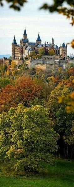 Hohenzollern Castle, Germany #culturetravel