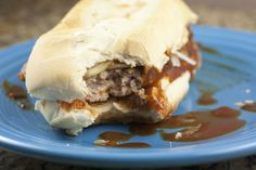 The NickRib Sandwich - Copycat McRib Sandwich -