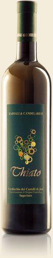 Verdicchio dei Castelli di Jesi Superiore Thiato cantina Badiali & Candelaresi vini delle Marche Morro D'Alba