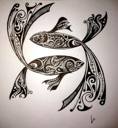 about Pisces Fish Tattoos on Pinterest | Fish Tattoos Pisces Tattoos ...