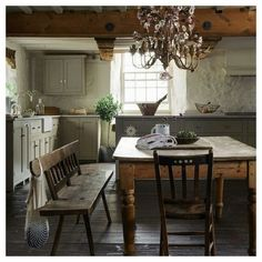 Wonderful Farmhouse Kitchen
