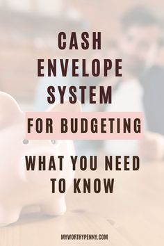 If you're new to the cash envelope budget system, here is your ultimate guide on how to start budgeting with the cash envelope budgeting method. The Dave Ramsey cash envelope system will help you save money and pay off your debt fast. #cashenvelopebudget Dave Ramsey Envelope System, Envelope Budget System, Cash Envelope System, Budgeting System, Budgeting Tips, Financial Literacy, Financial Goals, Literacy Quotes, Monthly Budget Template