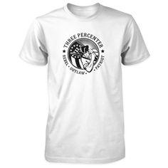 Three Percenter Shirt - Rebel Outlaw Patriot