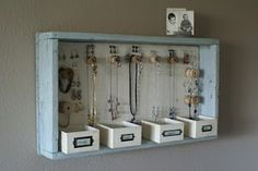 Shadow Box Jewelry Box