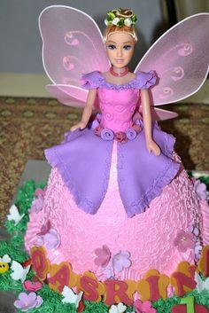 MyPu3 Cake House: Boneca Princesa Bolo