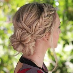 Fishtail With A Side Bun