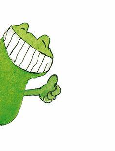 - Janosch Spielwaren – Janosch Online-Shop Janosch Spielwaren – Janosch Online-Shop This imag - Frog Pictures, Cute Pictures, Doodle Drawings, Doodle Art, Funny Frogs, Easy Canvas Art, Frog Art, Happy Paintings, Cute Friends