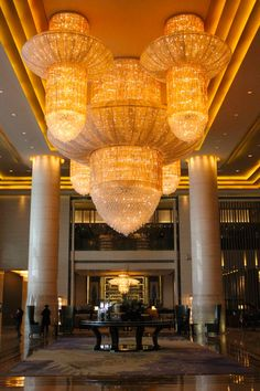 April 1, 2013. Jubilant artwork and magnetic atmosphere graces the adjacent Hilton Hotel in the Wanda development in Dalian, China. www.traveladept.com