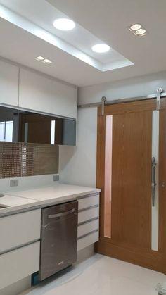 Kitchen Ceiling Design, Simple False Ceiling Design, House Ceiling Design, Ceiling Design Living Room, False Ceiling Living Room, Kitchen Room Design, House Design, Design Salon, Lobby Design