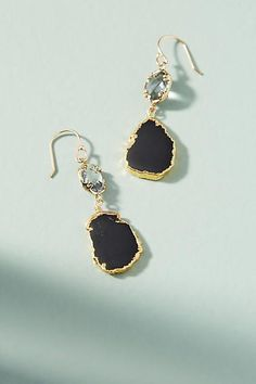 Anthropologie Reflection Drop Earrings