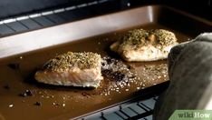 3 Ways to Cook Frozen Salmon - wikiHow Pan Seared Salmon, Grilled Salmon, Cook Frozen Salmon, Cooking Salmon Fillet, Salmon Skin, Cooking 101, Sweet Sauce, Salmon Fillets, Roasted Vegetables