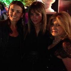 Eva Gómez, Monica Conandari y Carola Honorato