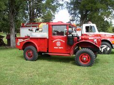 Old Fire Trucks from Georgeville Fire Dept.
