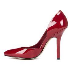 b1c07fe3841 tabitha d orsay pump Red High Heels