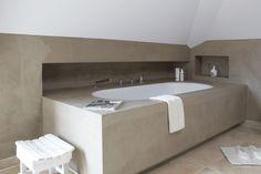 mooi voorbeeld ingebouwd bad